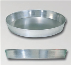 "Pizza Pan, Deep Tapered Sides 6"" Top Dia., 2"" Deep, A90672 by American Metalcraft."