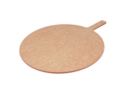 "Pizza Peel, Pressed Wood, 18"" Round Blade, 23"" Overall Length, MP1823 by California Cooking."