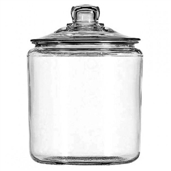 Glass, Jar Round With Cover 2 Gal, 69372MN by Anchor Hocking.