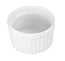 Ramekin, 2oz Fluted - White, 900011 by BIA Cordon Bleu.