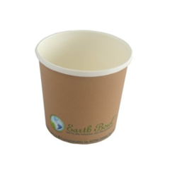 Earth-To-Go, Earth Bowl, 16oz, Earth Tone, Case/500 , EB-N-16