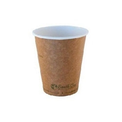 "Cups, Hot Beverage ""Earth Cup"" 12oz, Case/1000, KECH-12 by.Earth-To-Go"