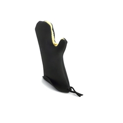 "Oven Mitt, KitchenGrips 16 3/4"" Black - 5441802 by Browne Foodservice."