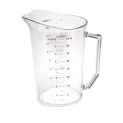 Measuring Cup, Plastic 1/2 Gallon 200MCCW135 by Cambro.