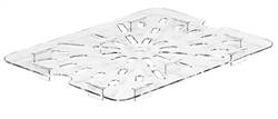 Cold Food Pan Drain Tray - For Half Size Pans, 20CWD135 by Cambro.
