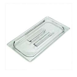 Food Pan Cover, Third Size With Handle - Clear, 30CWCH-135 by Cambro.