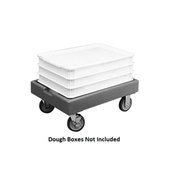 Dough Box Dolly, Gray - CD1826PDB615 by Cambro.