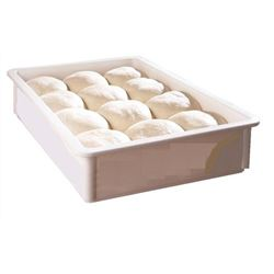 "Pizza Dough Box, 18"" X 26"" X 6"" - White, DB18266CW148 by Cambro."