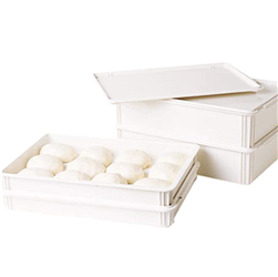 "Pizza Dough Box Cover, 18"" X 26"", White"