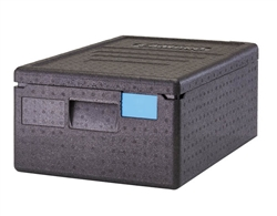Food Pan GoBox, Insulated Transport Black- EPP160SW110 by Cambro.