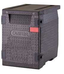 Food Pan GoBox, Insulated Transport Black- EPP400110 by Cambro.