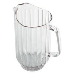 Pitcher, Plastic 60 oz - Clear, P600CW135 by Cambro.