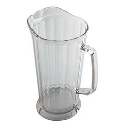 Pitcher, Plastic 64 oz - Clear, P64CW135 by Cambro.