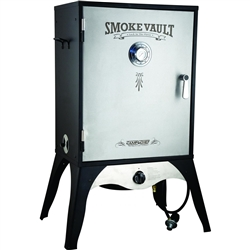 "Outdoor Smoker, ""24"" Smoke Vault"" - L.P. Gas, SMV24S by Camp Chef."