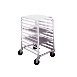 Bun Tray Rack, Half Size With Removable Poly Top, AL-1810-H-PT by California Cooking.