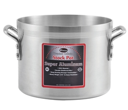 CCK Stock Pot, Heavy Duty Aluminum, 8 Quart - AXS-8 by CCK