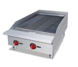 "Charbroiler, Countertop 24"" Radiant - Nat. - BR24 by CCK."