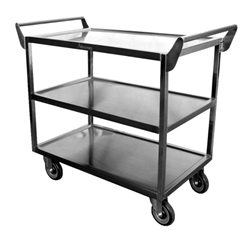 "California Cooking Utility Cart S/S 20x40x33-1/2"" - C-2333"