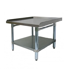 "Equipment Stand, Stainless Steel, 30"" x 24"", CCES-3024 by California Cooking."
