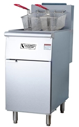 Fryer, Floor Model 70 LB Nat Gas - F5-N by CCK.