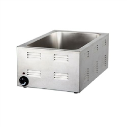 "Food Warmer, For 12"" x 20"" Food Pans, 1200 Watts, FOODWARMER by CCK"