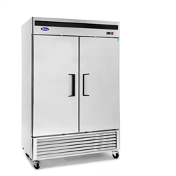 Freezer, Reach-In 2 Door Bottom Mt - FREEZER-2DR by California Cooking.