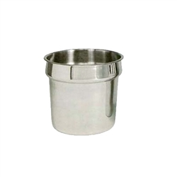 Inset, Round 11 qt Stainless Steel - IS-110 by California Cooking.