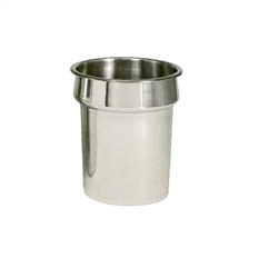 CCK Inset, Round 4 qt Stainless Steel - IS-40 by California Cooking.