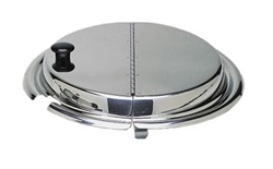 Inset Cover, Round 4qt Hinged, ISHC-40 by California Cooking.
