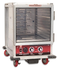 Transport/Proofing Cabinet, Heated Non-Insulated Half Size - 120V, NHPL-1810-HHC by California Cooking.