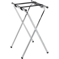 "Tray Stand, 37"" High, Chrome Plated, TS-37-C by California Cooking."