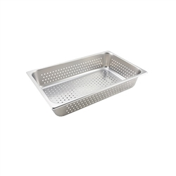 "Steam Table Pan, Full Size Perforated 4"" Deep - VX114P by California Cooking."