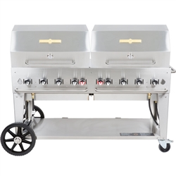 "Outdoor BBQ Grill, Radiant Portable 60""  - MCB-60RDP-LP by Crown Verity."