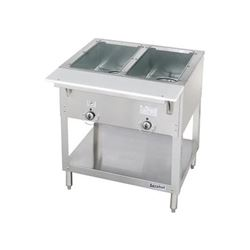 Steamtable, 2 Pan Electric - 120V, E302 by Duke Manufacturing.