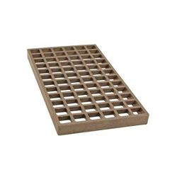 "Charbroiler Lower Char-Rock Grate,  8"" x 15"" Cast Iron, 146-1000 by Franklin Machine Products."