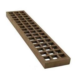 "Charbroiler Lower Char-Rock Grate,  4"" x 20"" Cast Iron, 231-1000 by Franklin Machine Products."