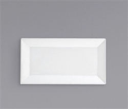 "FOH Kyoto Plate, 11x6"" Rectangle - DAP055WHP23"