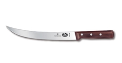 "Victorinox Swiss Army Breaking Knife 10"" Curved Rosewood Handle -  5.7200.25-X1"