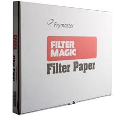 Frymaster Fryer Filter Paper Bx/100 - 803-0170