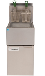 "Fryer, ""High-Efficiency Value"" Floor Model 35 Lb - Nat. Gas, ESG35T-SLCT by Frymaster."