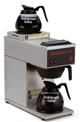 Coffee Brewer, Pour Over, 2 Warmers 120V - CPO-2P-15A by Grindmaster.