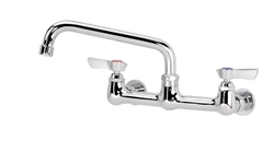"Krowne Faucet, Splash Mount, 8""Center/Swing - 12-808L/TOP12"
