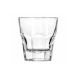 "Glass, Rocks  ""Gibralter® Pattern"" 8oz, 15240 by Libbey."