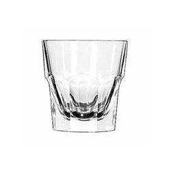 "Glass, Rocks  ""Gibralter® Pattern"" 7oz., 15245 by Libbey."