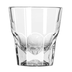 "Glass, Rocks  ""Gibralter® Pattern"" 4 1/2oz, 15248 by Libbey."