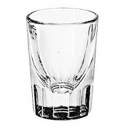 Glass, Shot Fluted Bottom 2 oz - No Line., 5126 by Libbey.