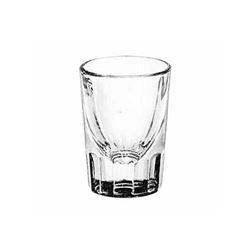 Glass, Shot Fluted Bottom 1 1/2 oz - No Line., 5127 by Libbey.