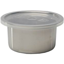 Salad Crock With Lid, Stainless Steel, 6 Qt., SSC-0.6 by Libertyware.