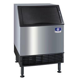 Ice Maker Machine, W/Bin Half Dice Cubes 137 lb/day - UYF0140A by Manitowoc.