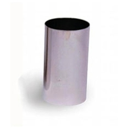 "Mousse Ring, Stainless Steel 2"" x 3 1/2"", 376010 by Matfer Bourgeat."